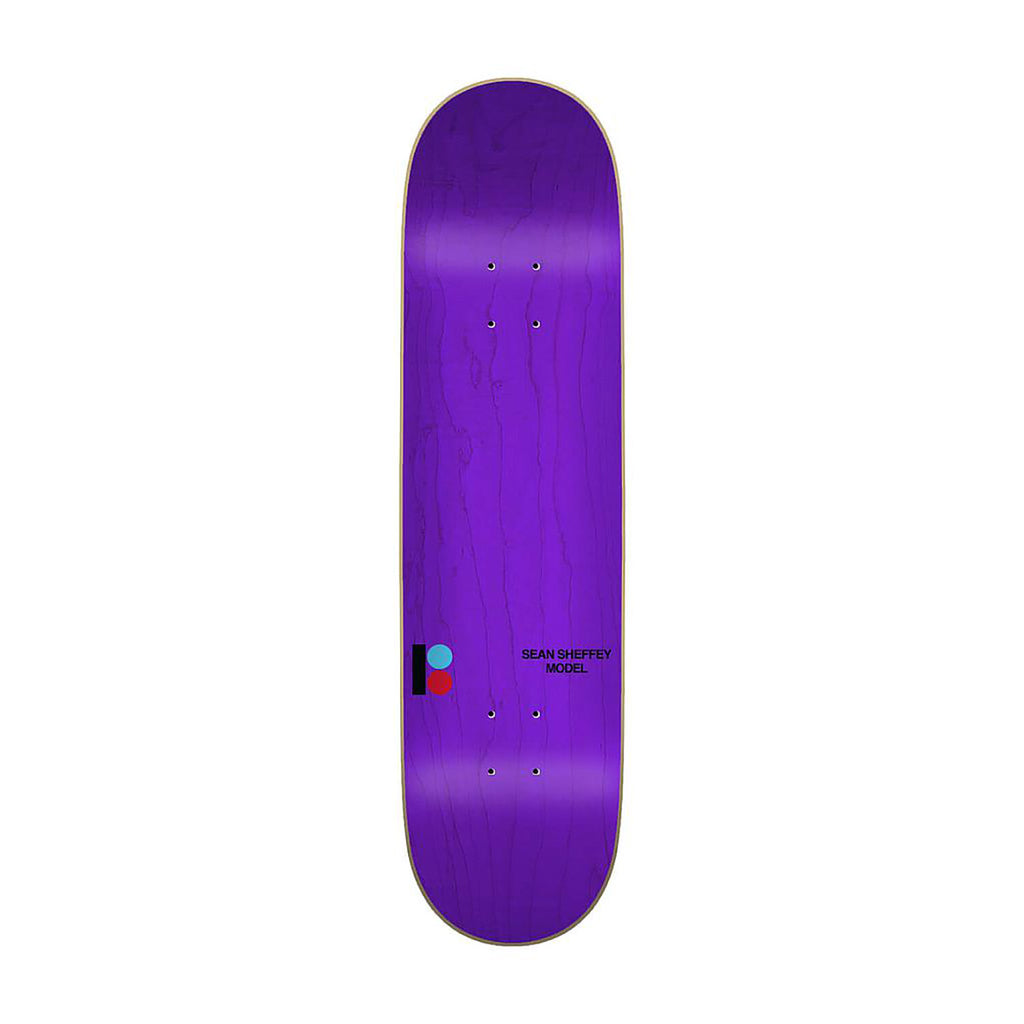 "Plan B Sheffey Thing Skateboard Deck in 8.5"" - Top"