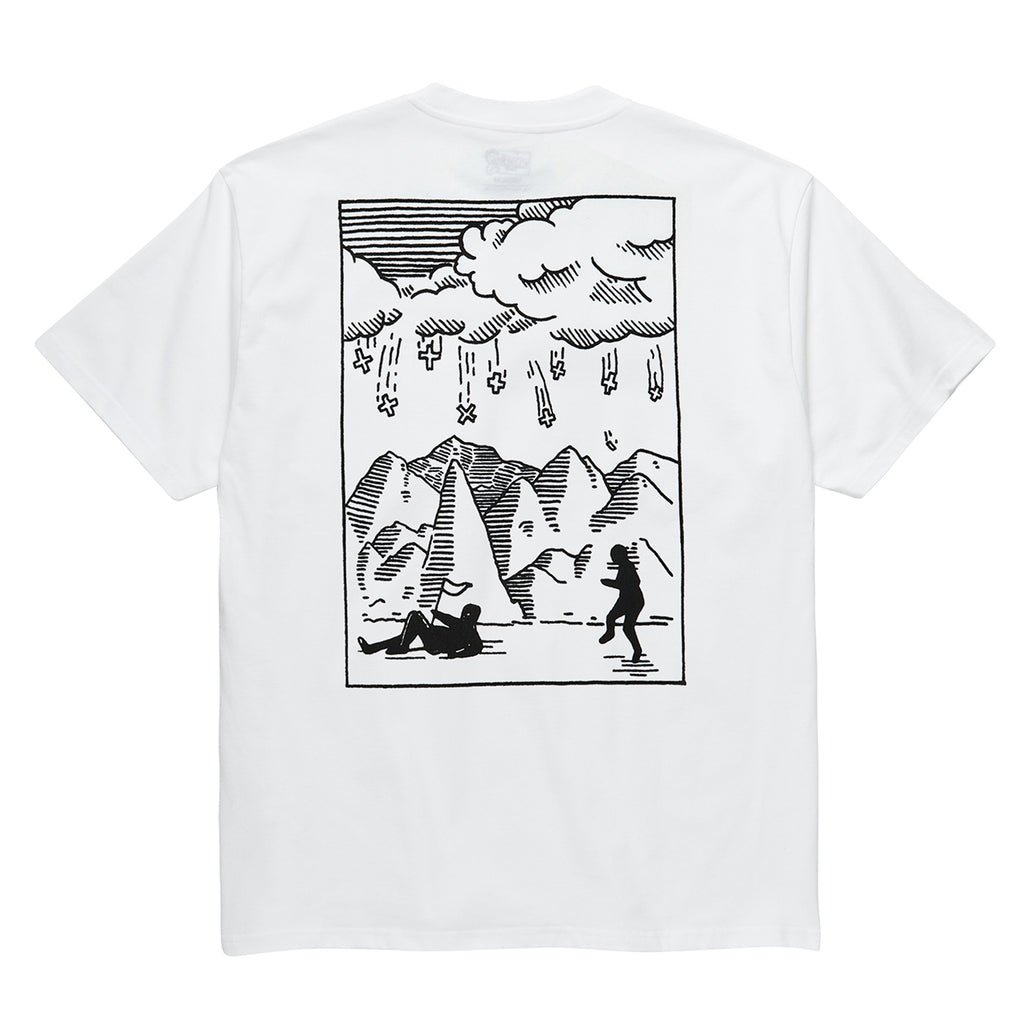 Polar Skate Co Plus T Shirt in White