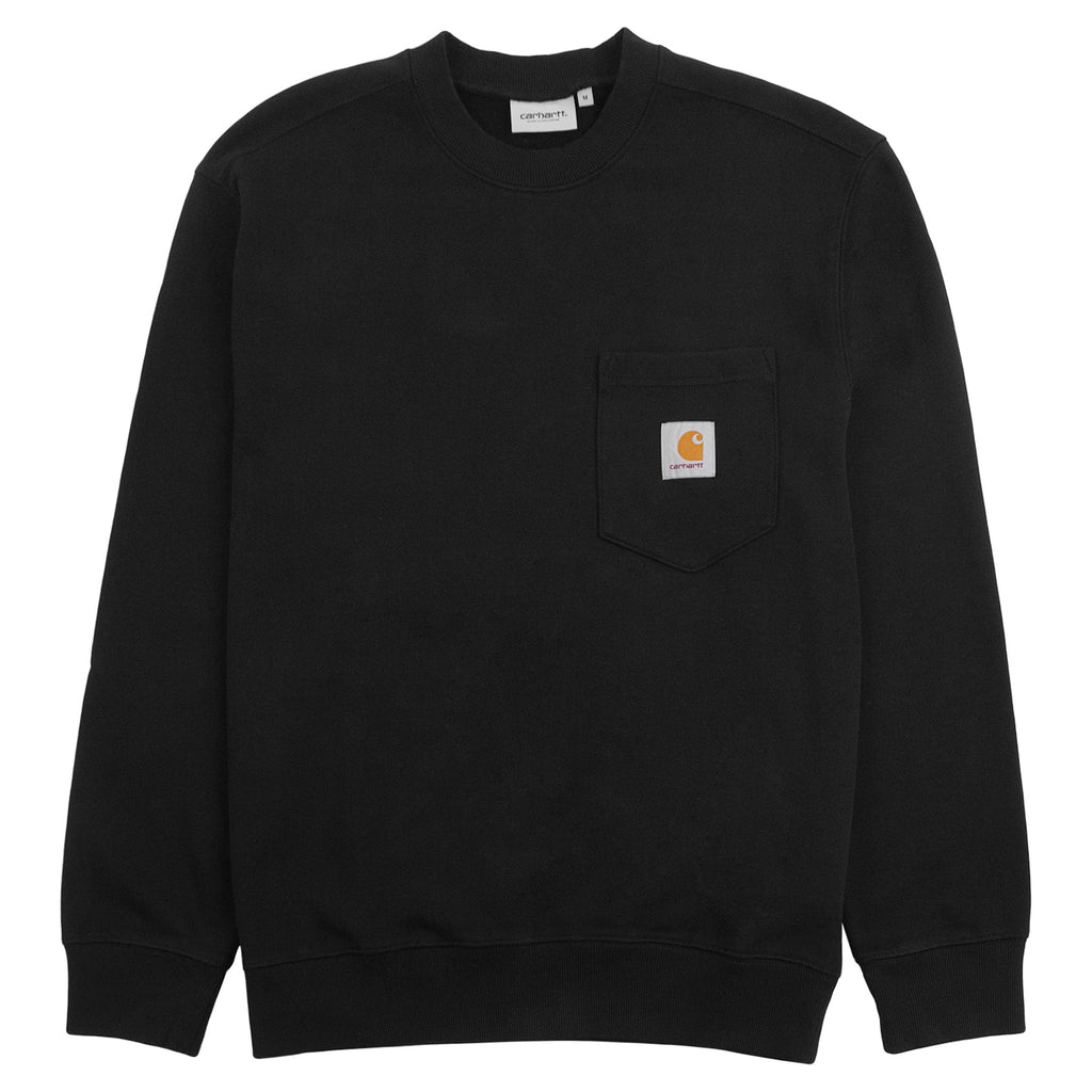 Carhartt WIP Pocket Sweatshirt in Black