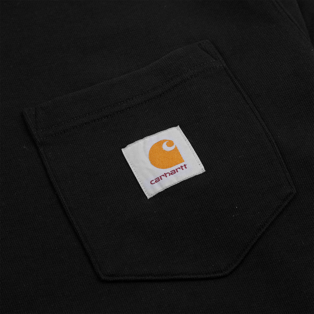 Carhartt WIP Pocket Sweatshirt in Black - Pocket