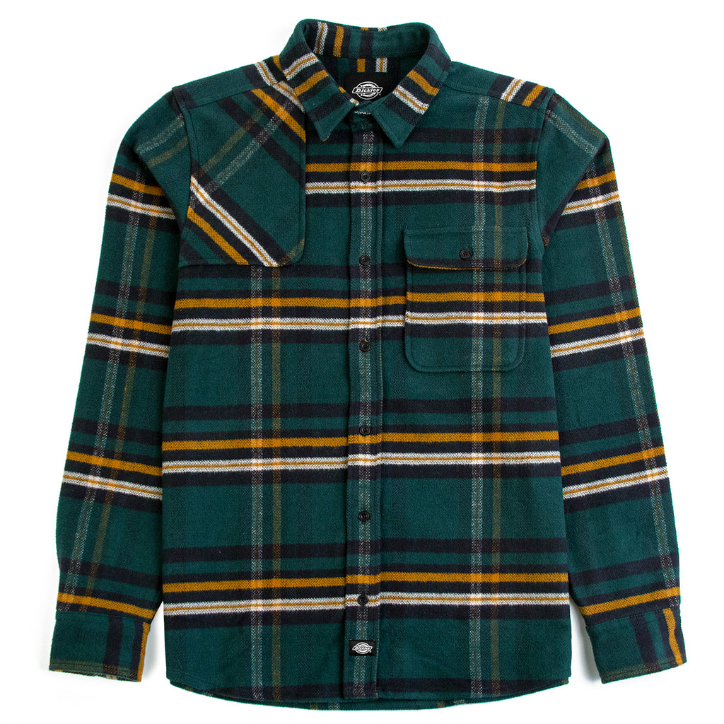 Dickies Prestonburg Shirt in Forest