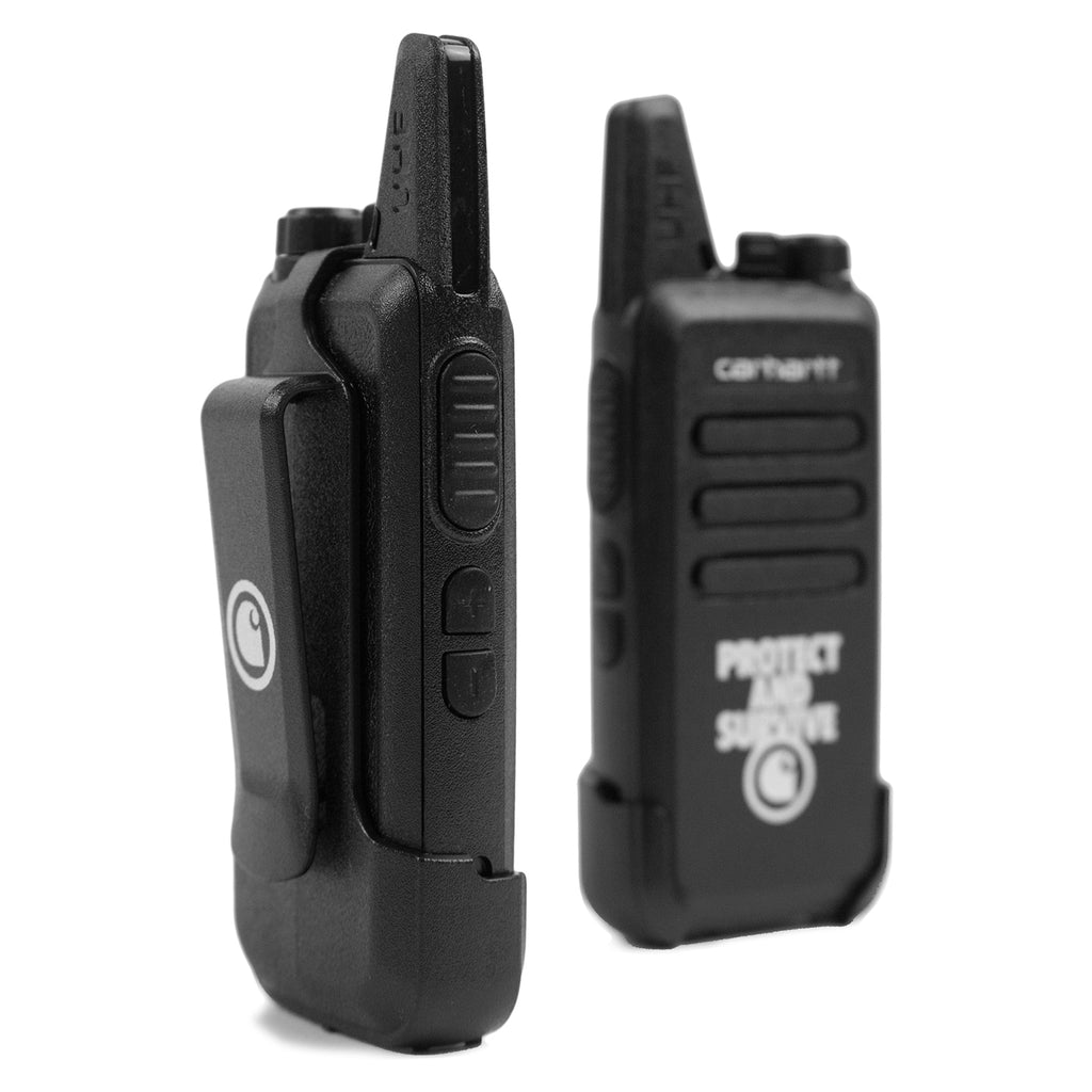 Carhartt WIP Protect Survive Walkie Talkie in Black - Detail 2