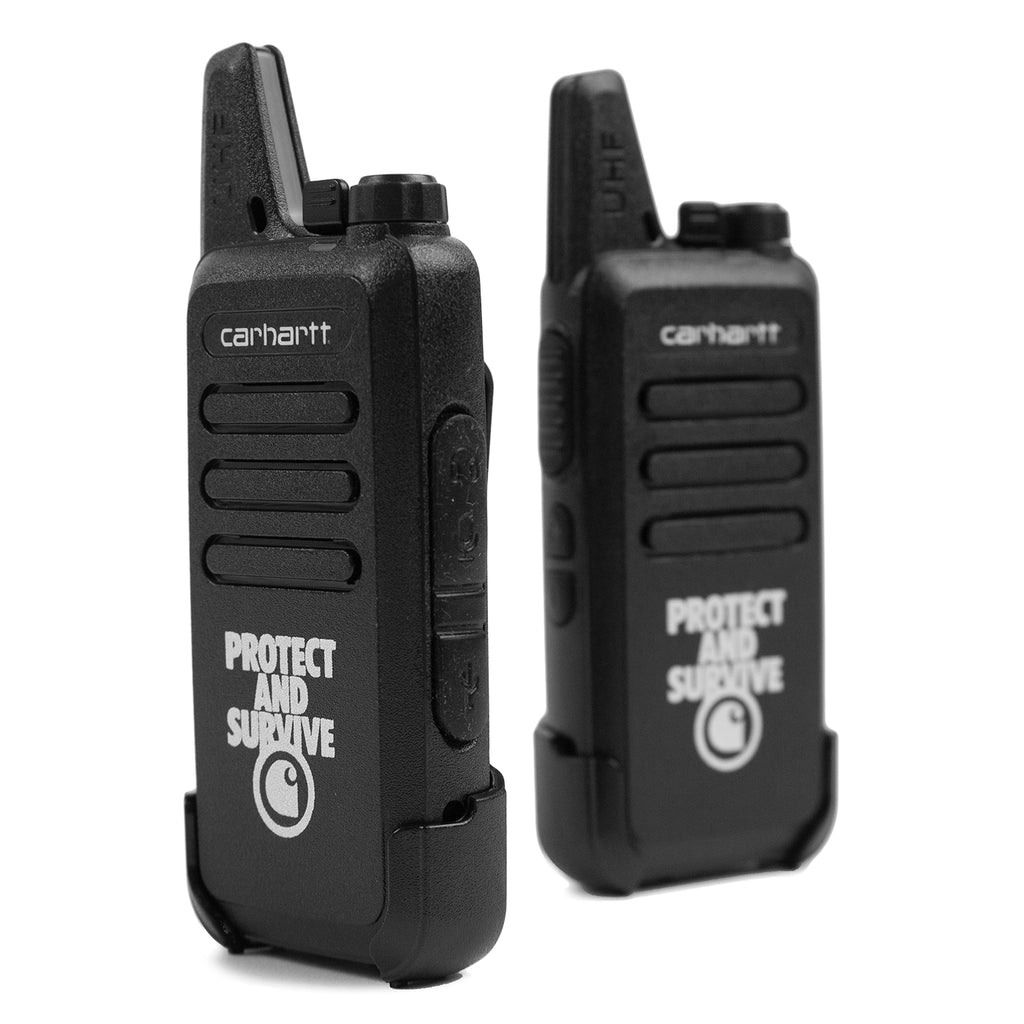 Carhartt WIP Protect Survive Walkie Talkie in Black - Detail 3