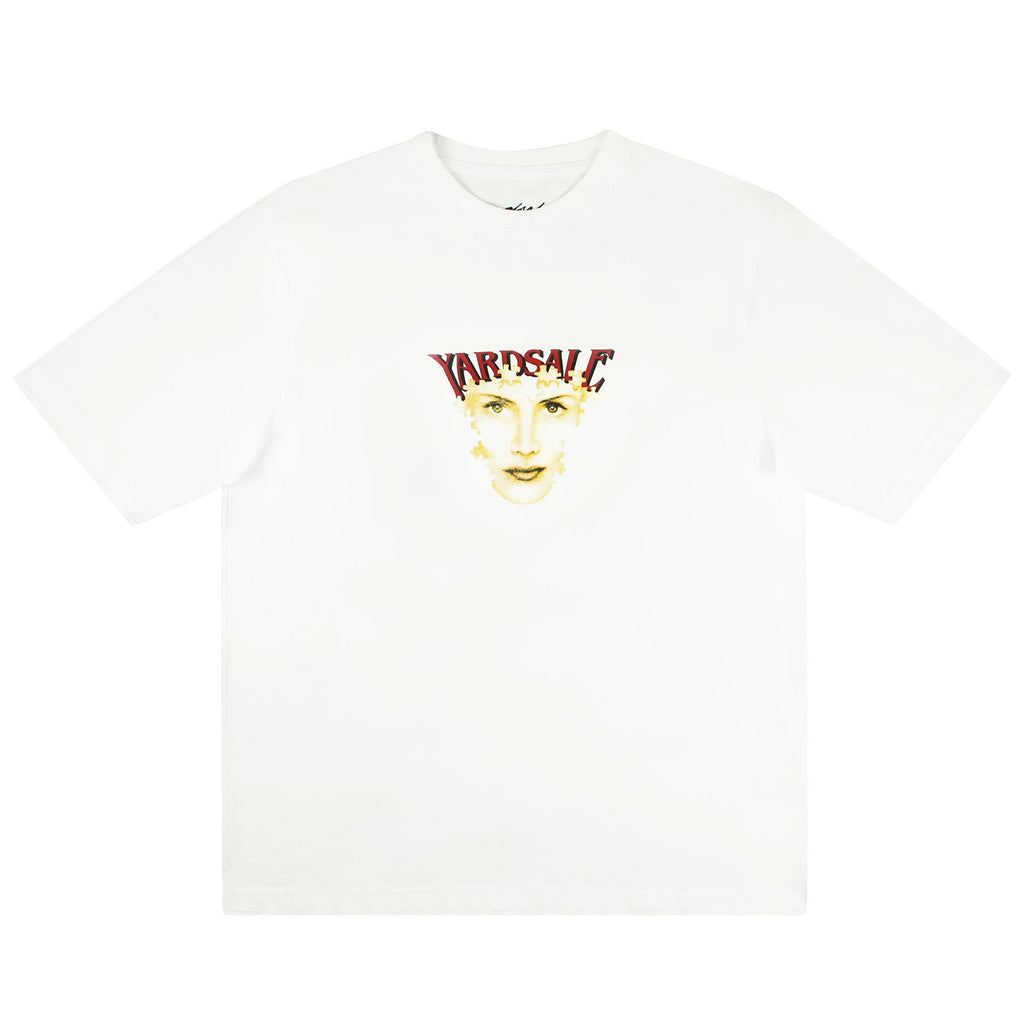 Yardsale Puzzle T Shirt in White