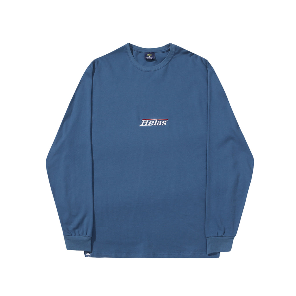 Helas L/S Rarissime T Shirt in Blue