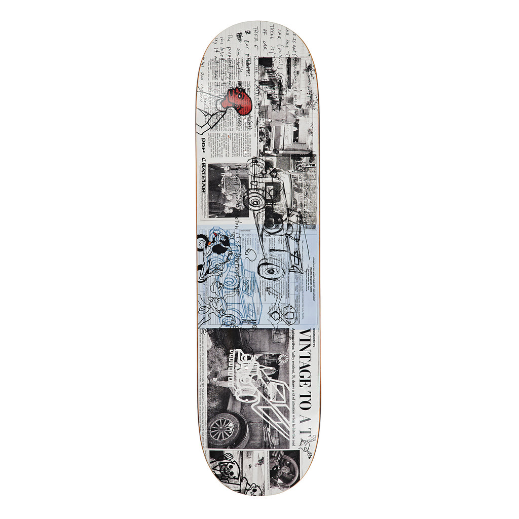 Polar Skate Co Ron Chatman Model T Skateboard Deck in 8.25""