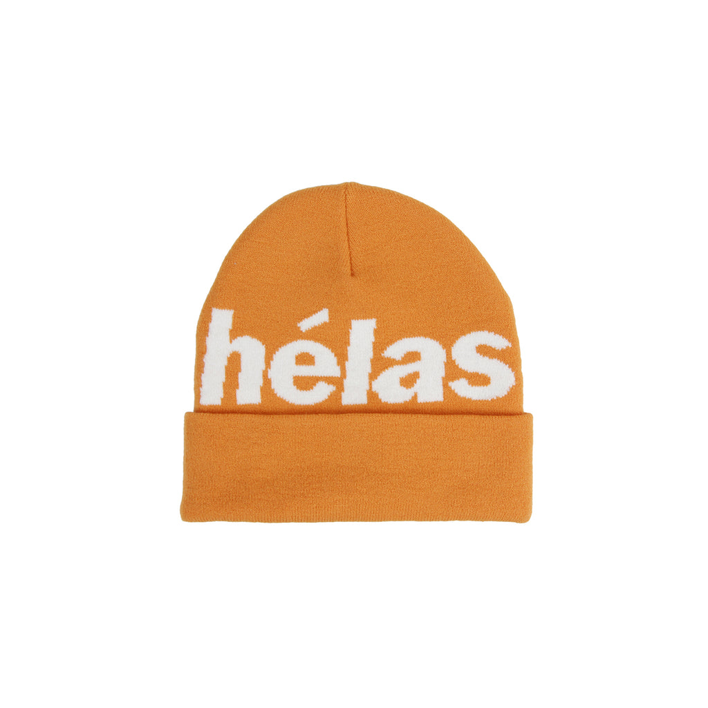 Helas Rep Beanie in Orange