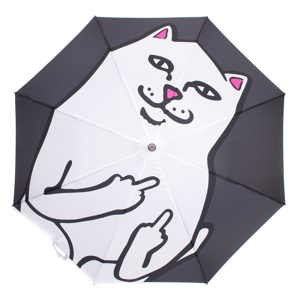 RIPNDIP Lord Nermal Umbrella in Black