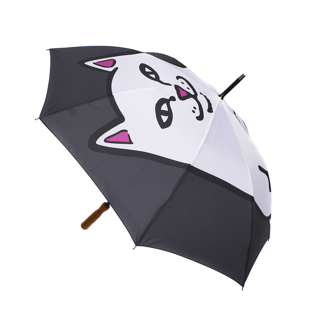 RIPNDIP Lord Nermal Umbrella in Black - Detail