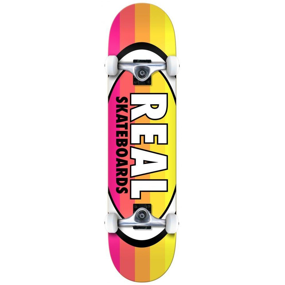 Real Skateboards Oval Stripes Complete Skateboard in 8""