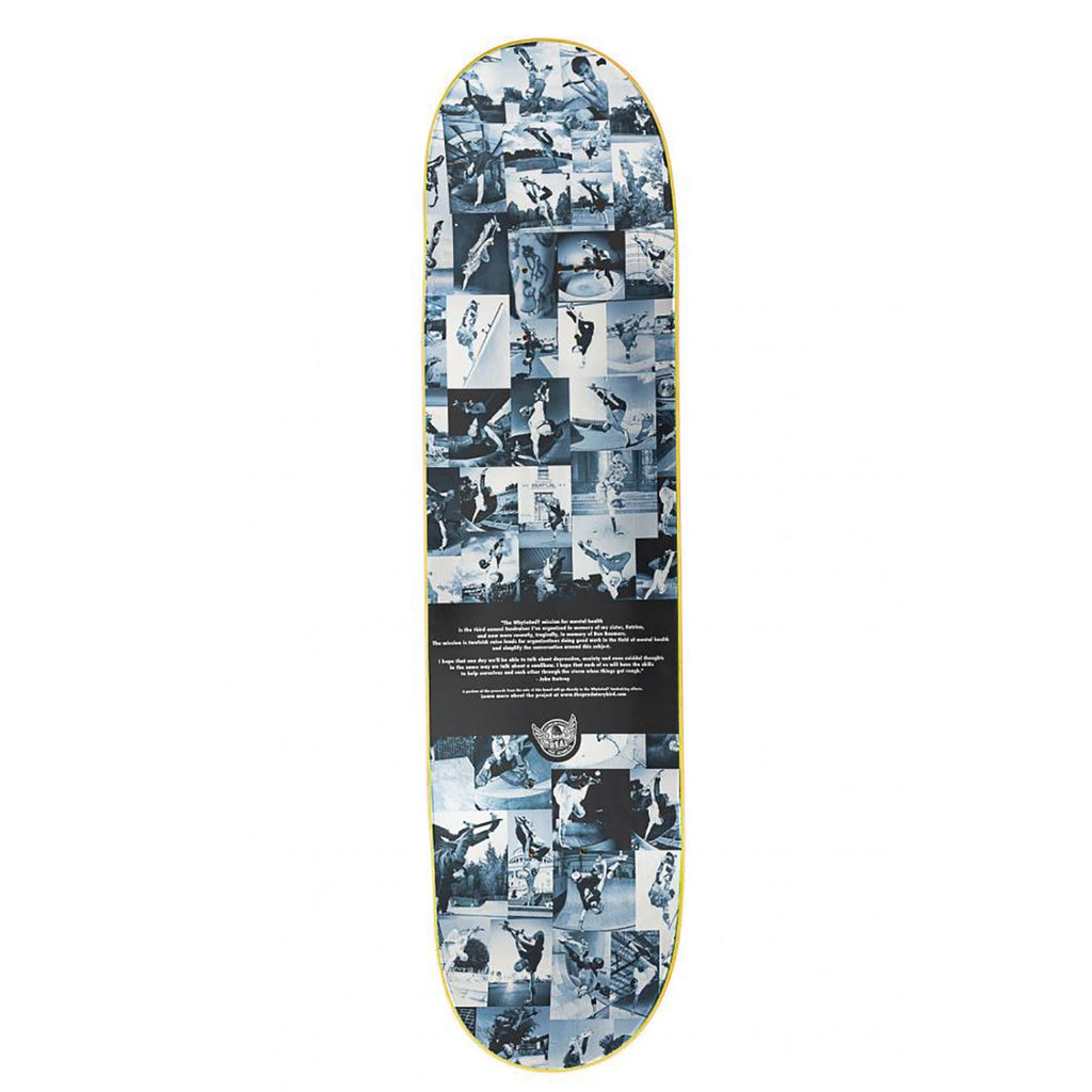"Real Skateboards Why So Sad Skateboard Deck in 8.25"" - Top"