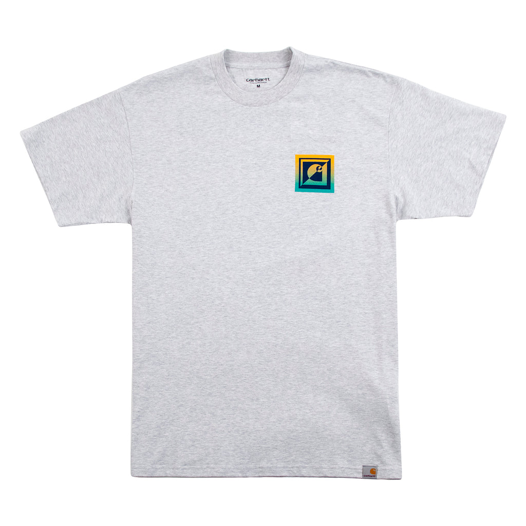 Carhartt WIP Record Club T Shirt in Ash Heather