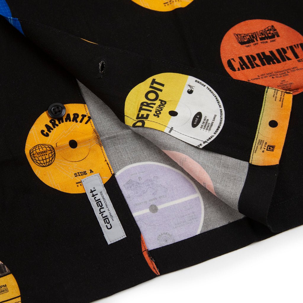 Carhartt WIP Record Shirt in Black - Label