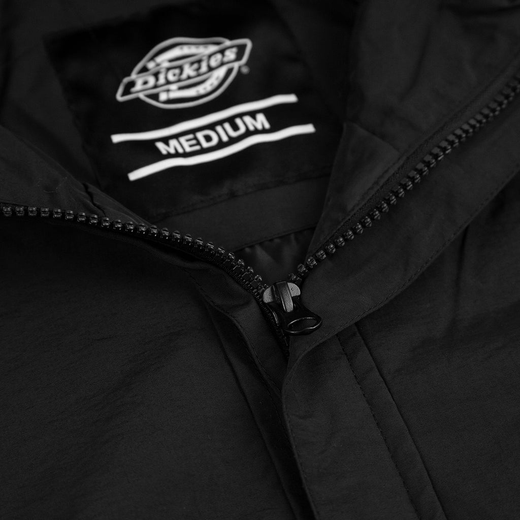 Dickies Rexville Jacket in Black - Neck