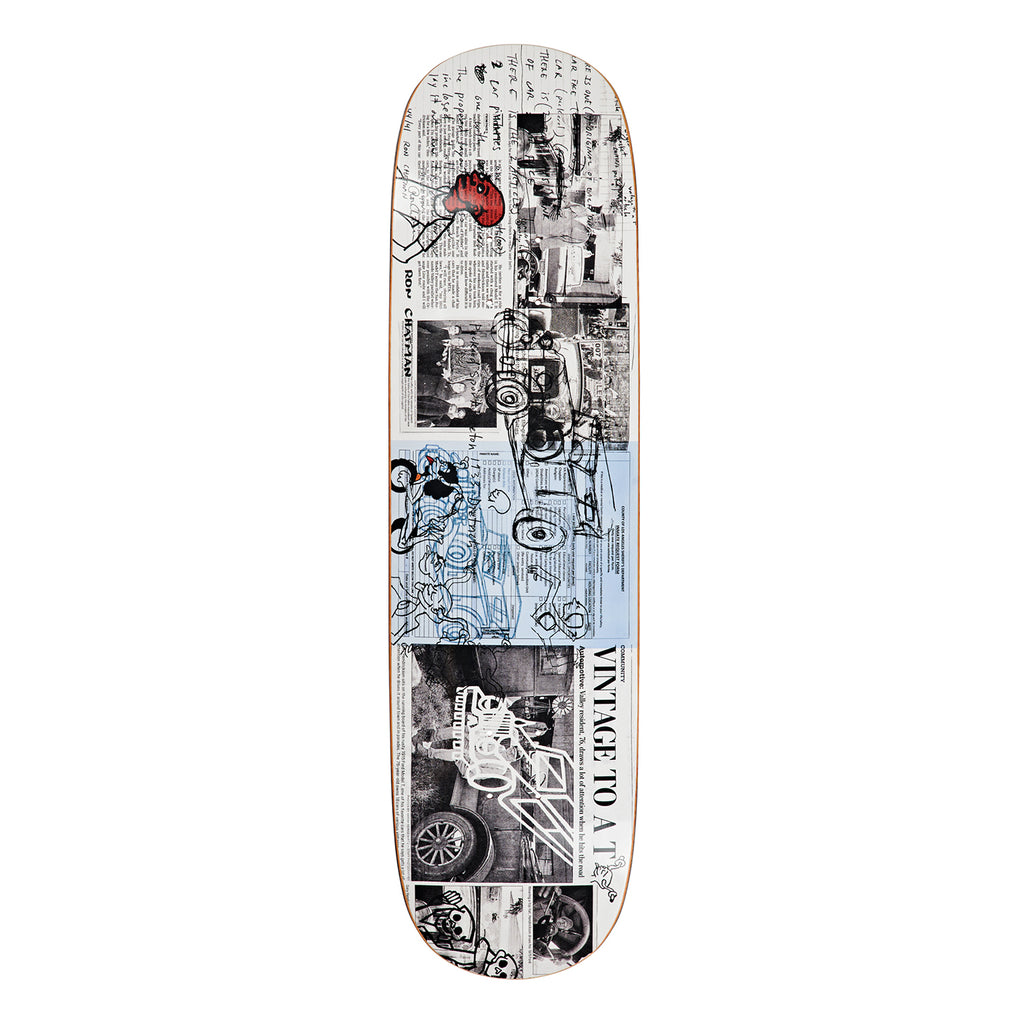 Polar Skate Ron Chatman P2 Model T Skateboard Deck