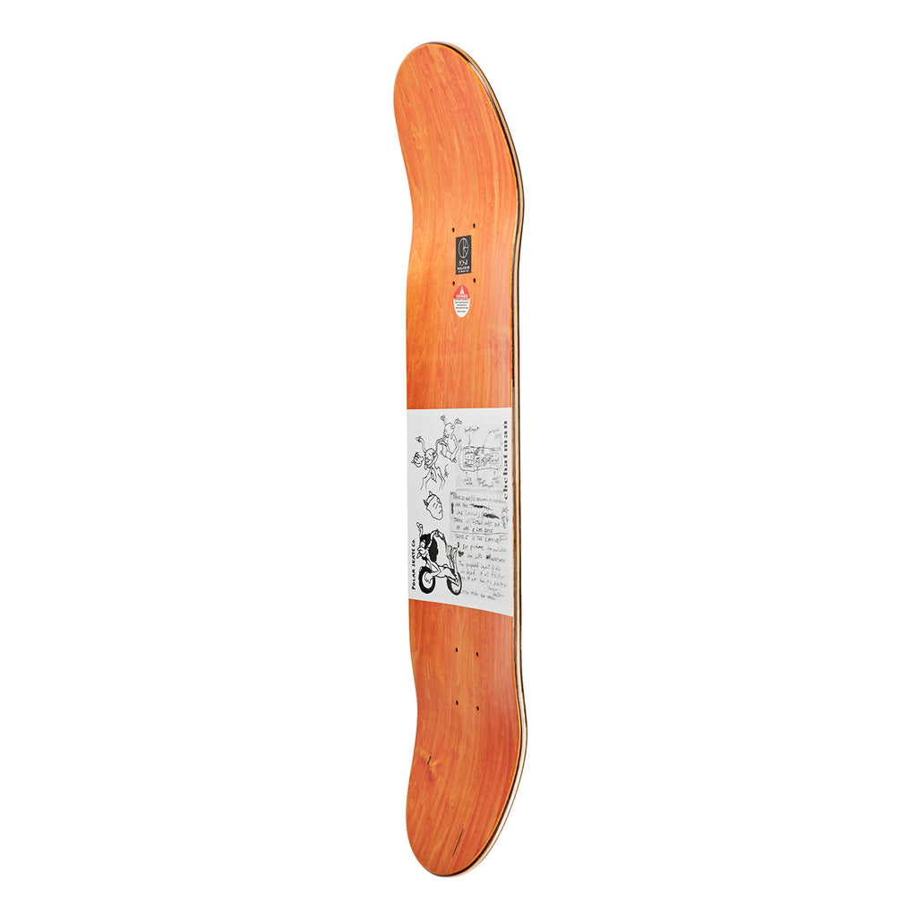 Polar Skate Ron Chatman P2 Model T Skateboard Deck - Side