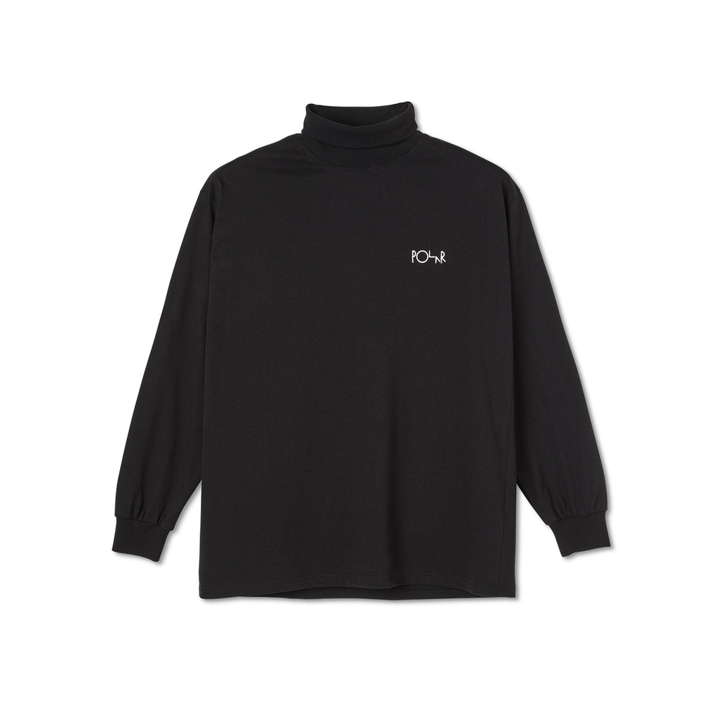 Polar Skate Co Script Turtleneck in Black