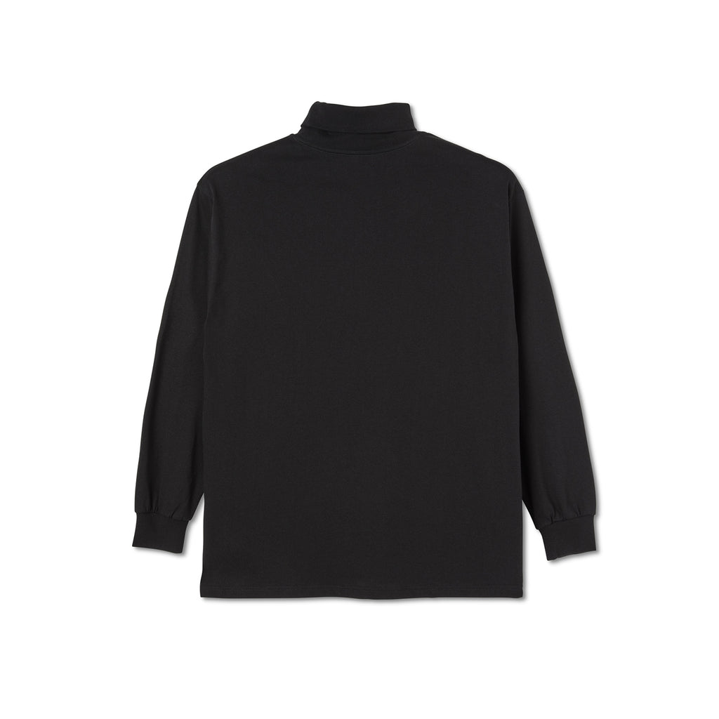 Polar Skate Co Script Turtleneck in Black - Back