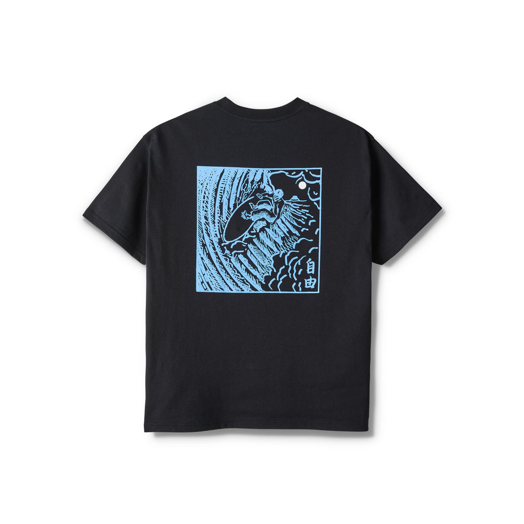Polar Skate Co Shin T Shirt in Black