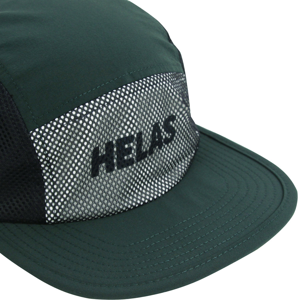 Helas Speed Cap in Green - Detail