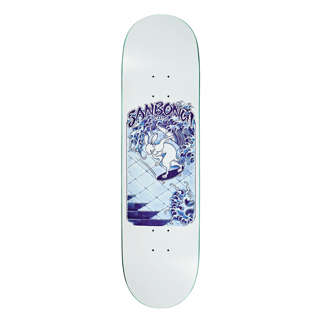 Polar Skate Co Shin Sanbongi Skate Rabbit Skateboard Deck in 8.5""