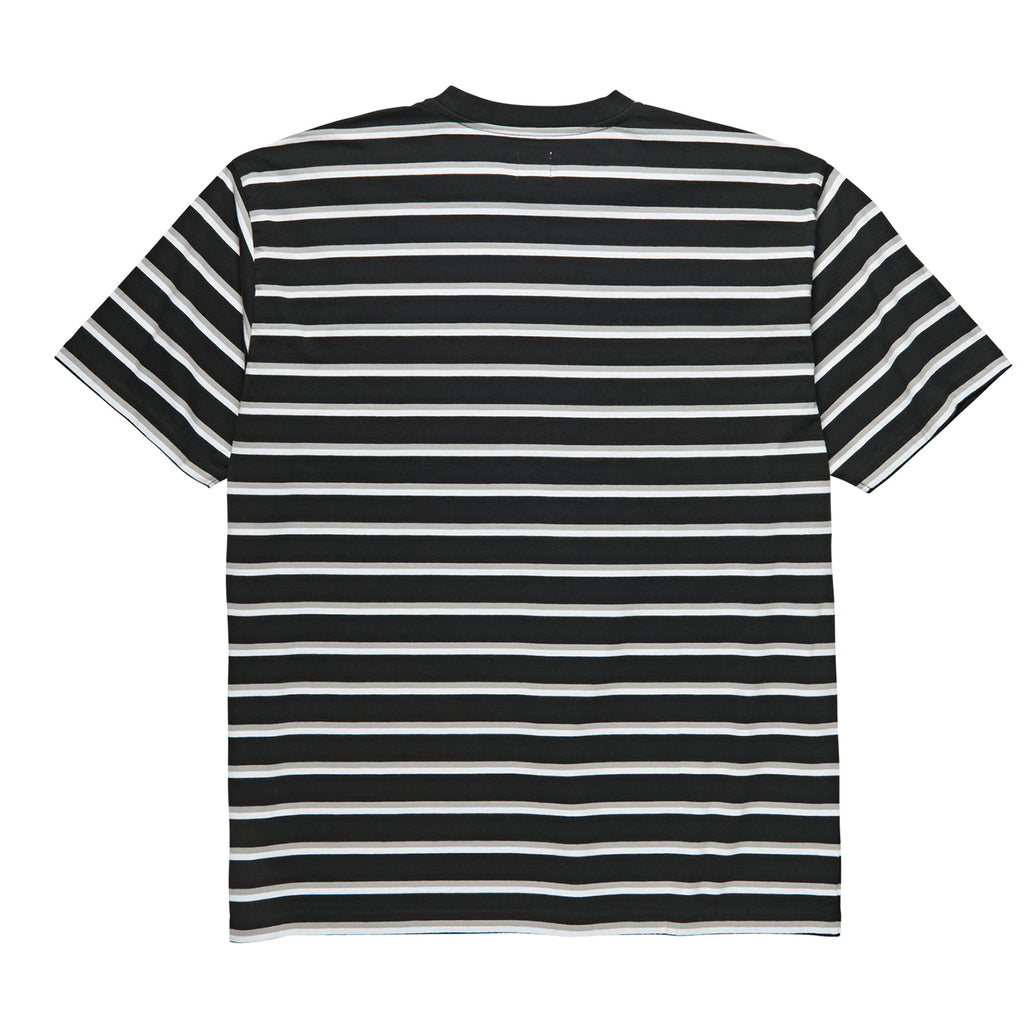 Polar Skate Co Stripe Pocket T Shirt in Black - Back