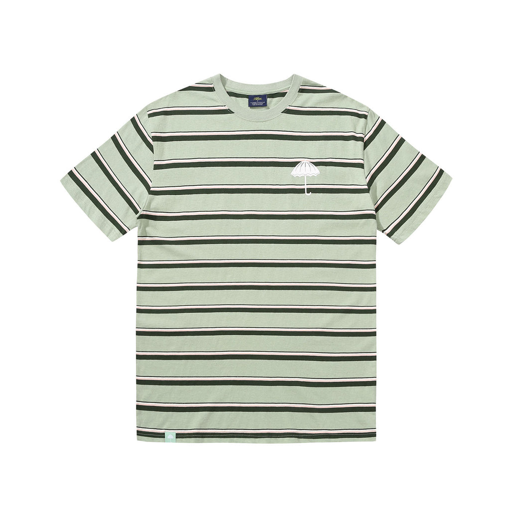 Helas Stripy UMB T Shirt Pastel Green - Front