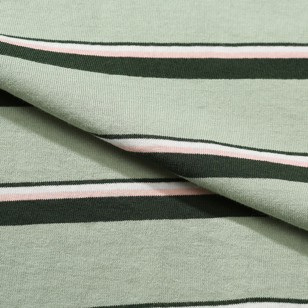 Helas Stripy UMB T Shirt Pastel Green - Stripes