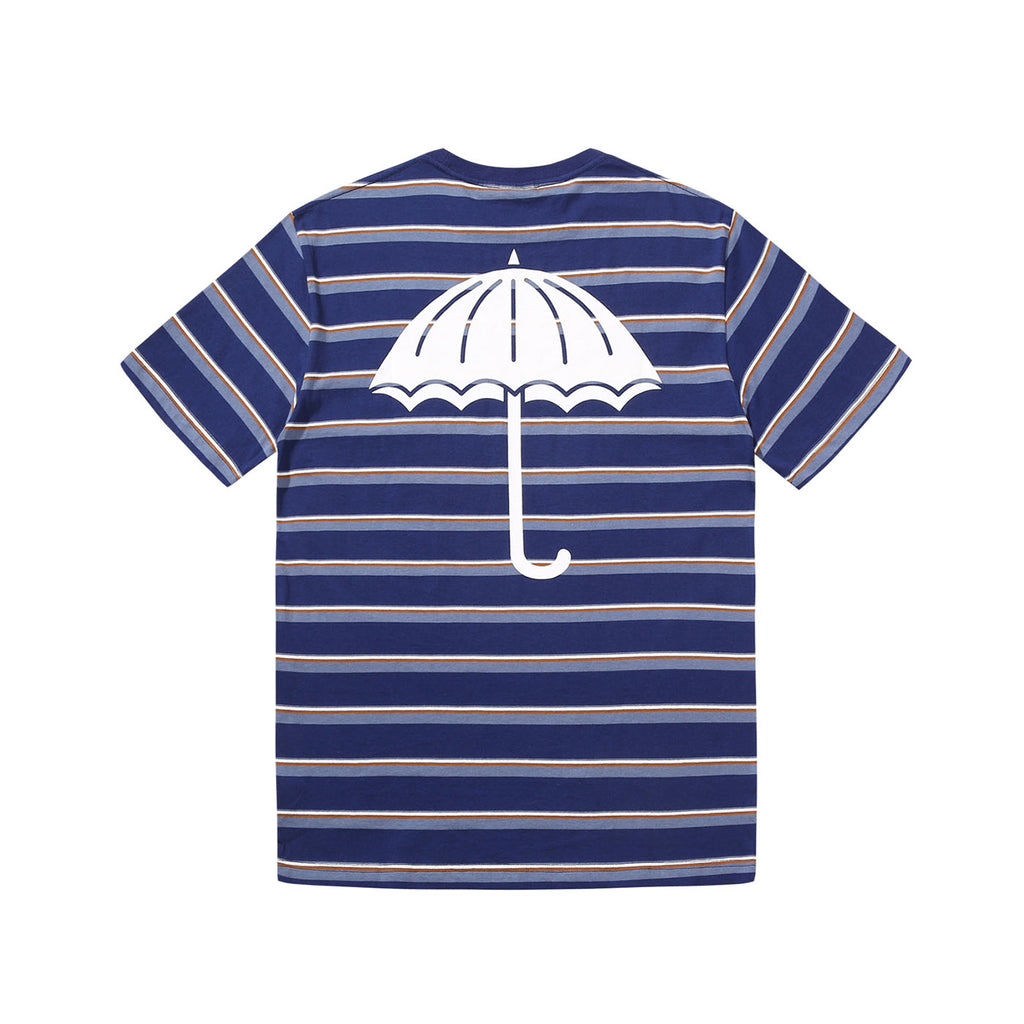 Helas Stripy UMB T Shirt Navy - Back