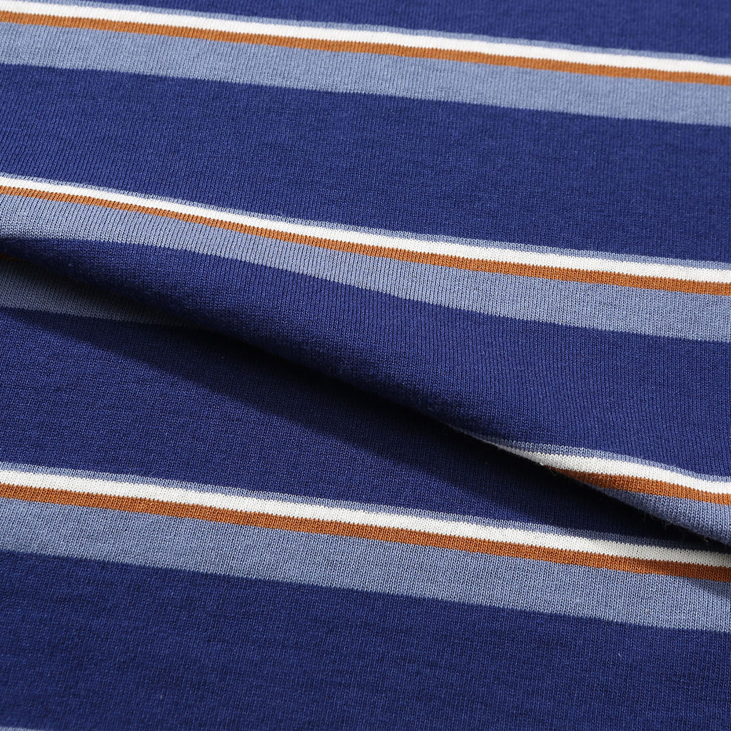 Helas Stripy UMB T Shirt Navy - Stripes