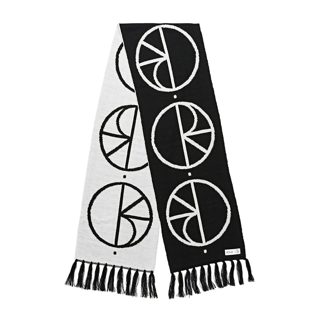 Polar Skate Co Stroke Logo Scarf in Black