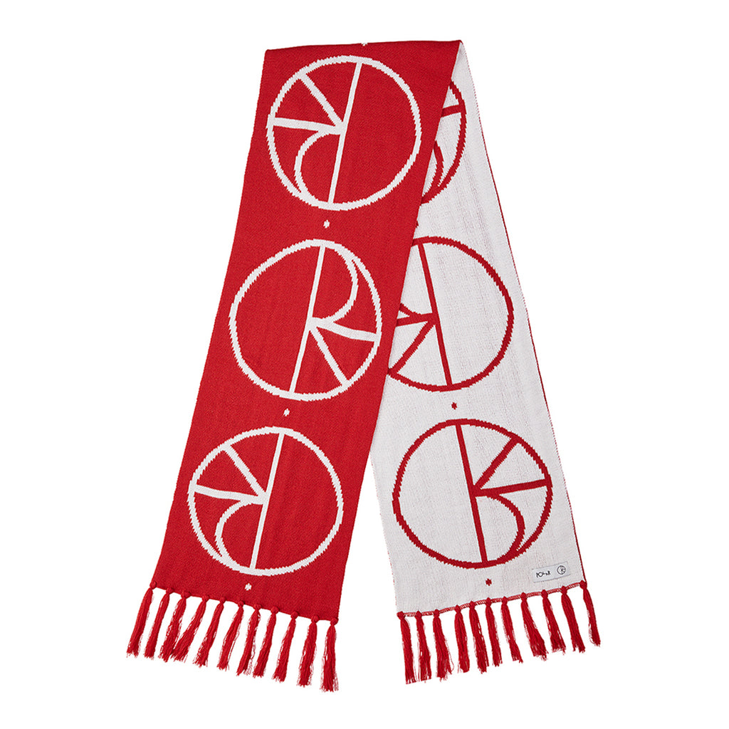 Polar Skate Co Stroke Logo Scarf - Red