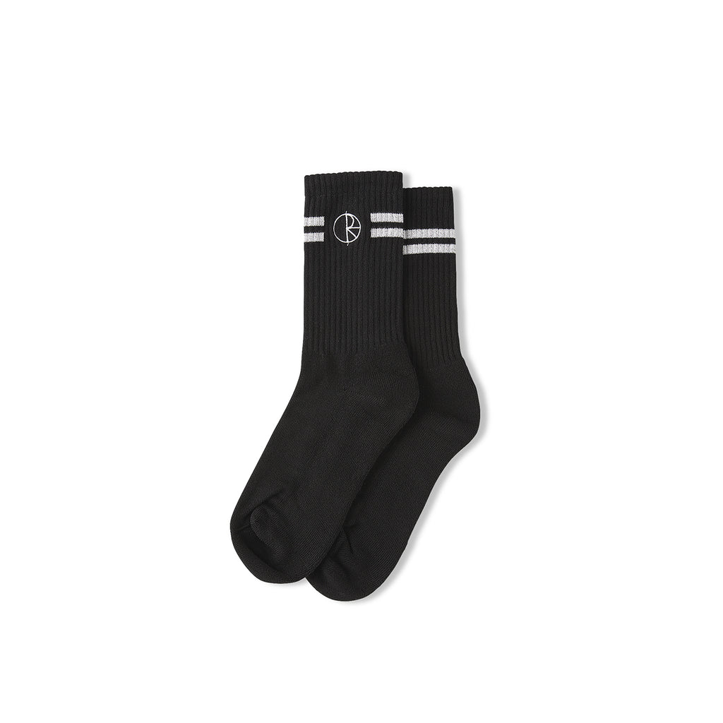 Polar Skate Co Stroke Socks in Black