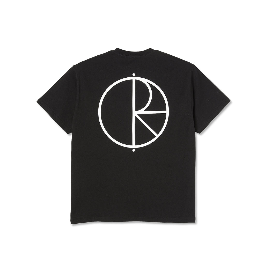 Polar Skate Co Stroke Logo T Shirt in Black