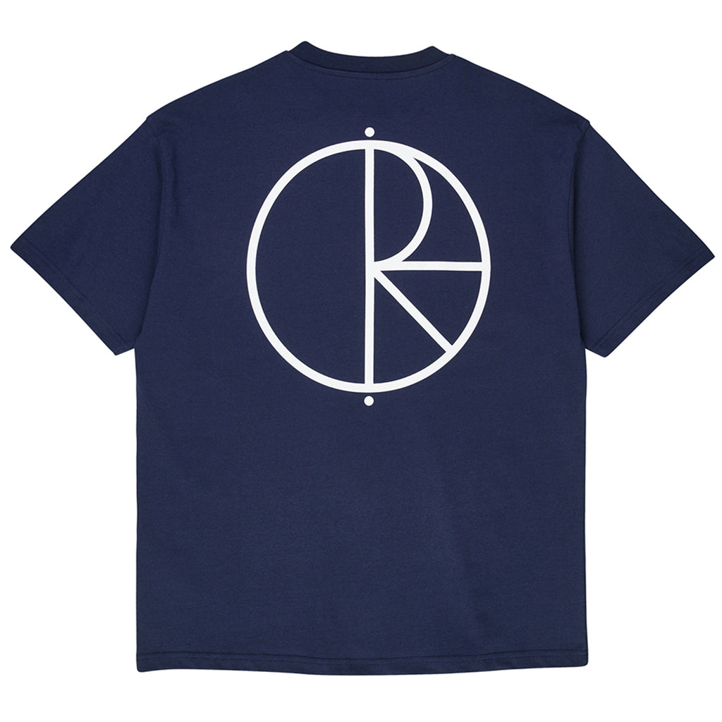 Polar Skate Co Stroke Logo T Shirt in Rich Navy