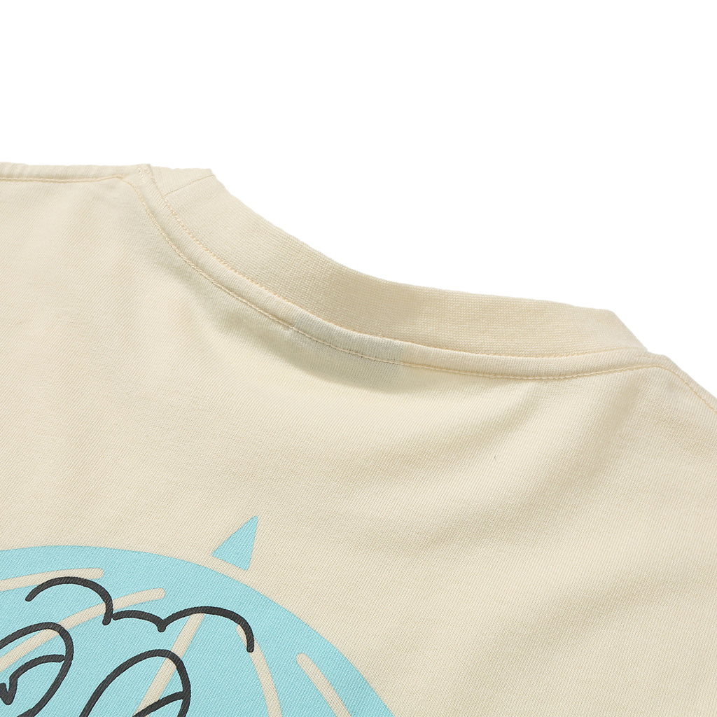 Helas Strong T Shirt - Pastel Yellow