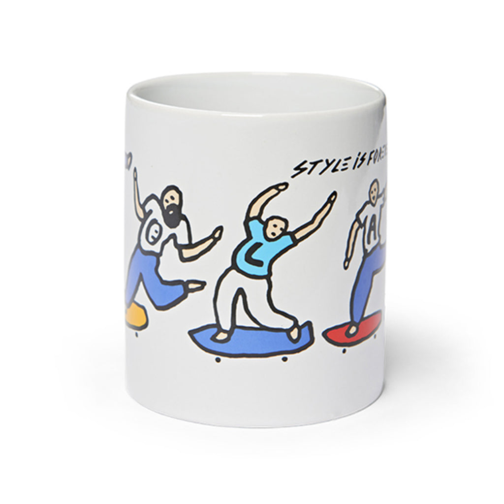 Polar Skate Co Style Is Forever Mug in White - 2