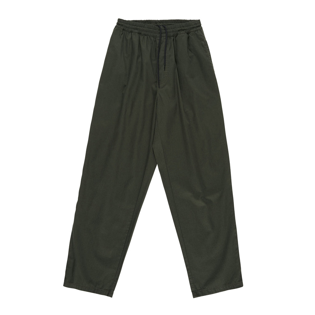 Polar Skate Co Surf Pants in Dark Olive - Front