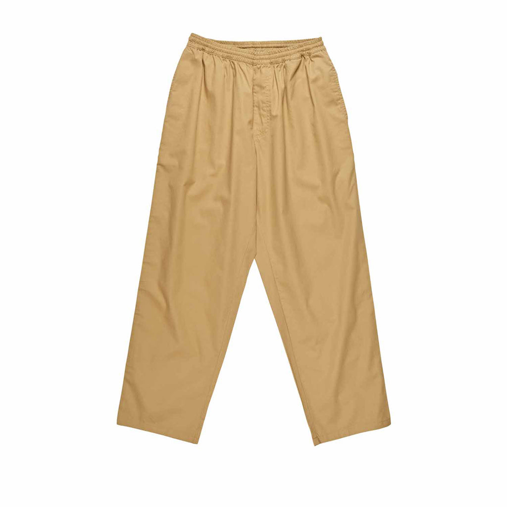 Polar Skate Co Surf Pants in Khaki - Front