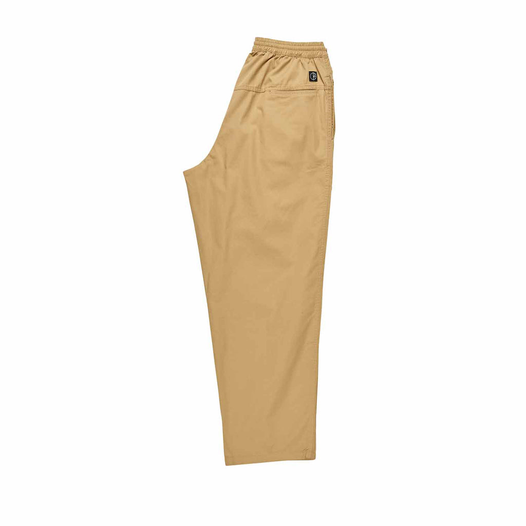 Polar Skate Co Surf Pants in Khaki - Leg