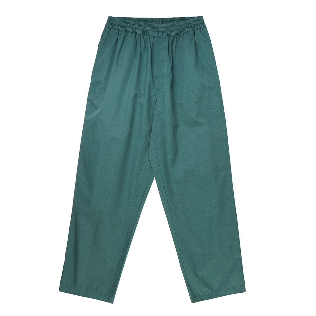 Polar Skate Co Surf Pants in Mallard Green - Front