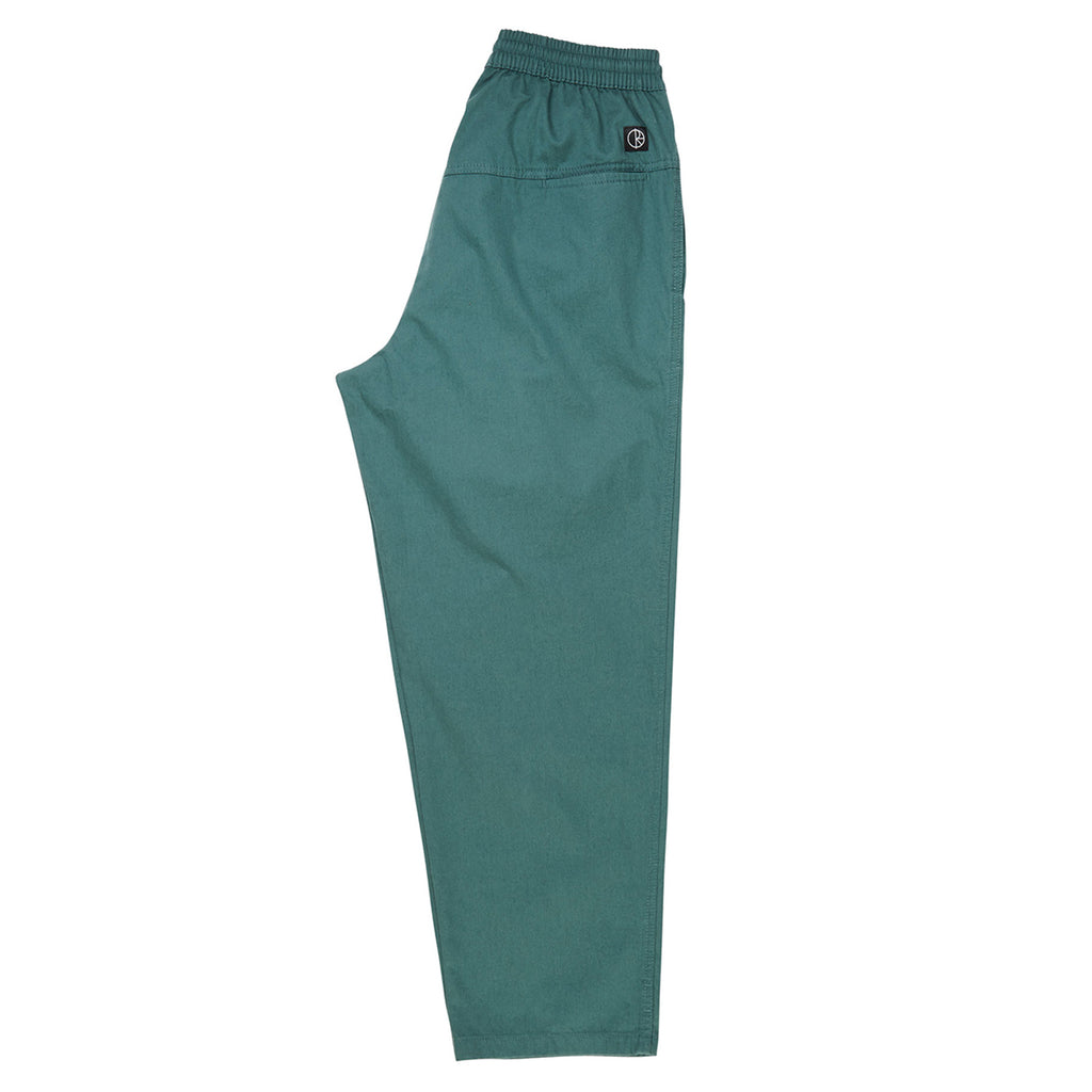 Polar Skate Co Surf Pants in Mallard Green - Leg