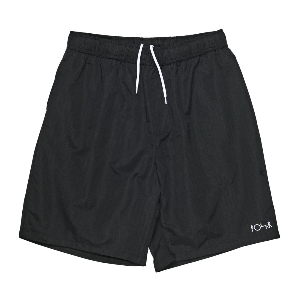 Polar Skate Co Swim Shorts in Black