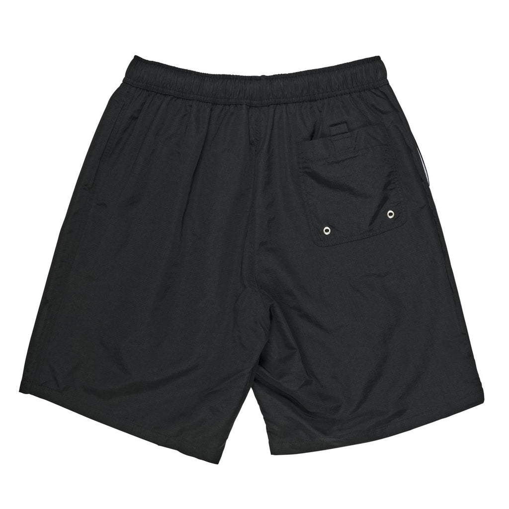 Polar Skate Co Swim Shorts in Black - Back