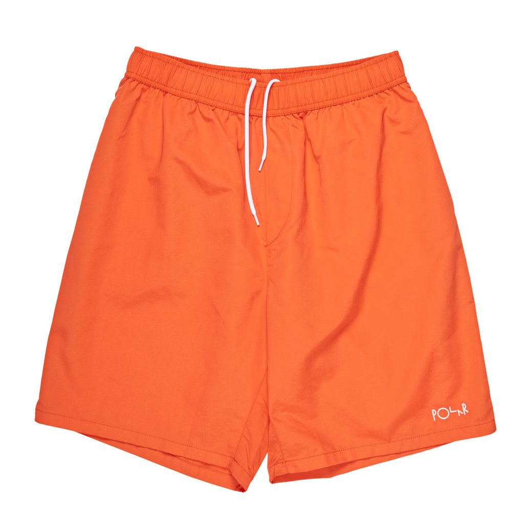 Polar Skate Co Swim Shorts in Apricot