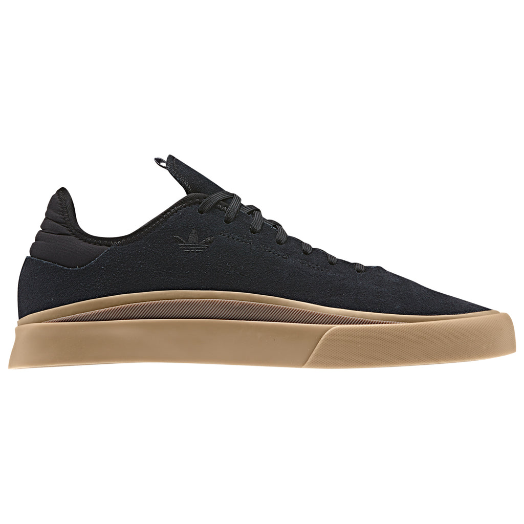 Adidas Skateboarding Sabalo Shoes in Core Black / Gum 4 / Gum 5