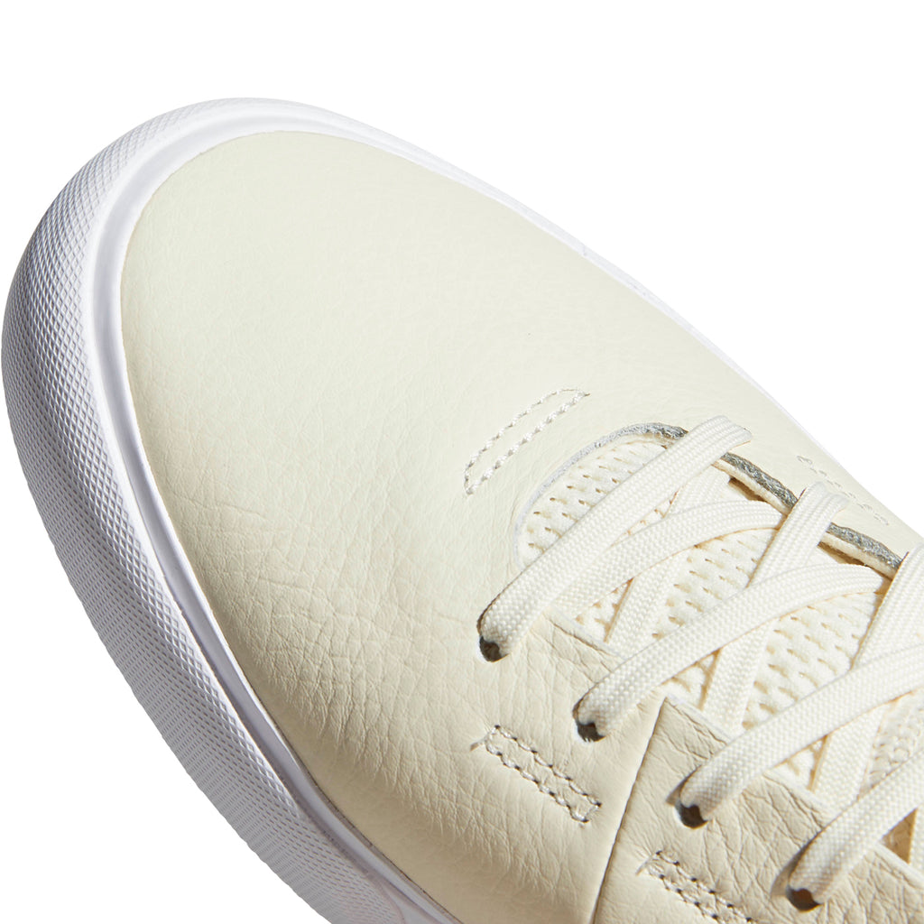 Adidas Skateboarding Sabalo 'Najera' Shoes in Cream White / Footwear White / Power Red - Toe