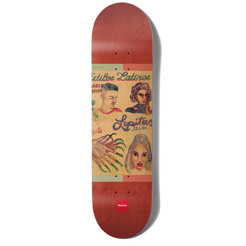Chocolate Skateboards Stevie Perez Cuts Skateboard Deck - 8.375""