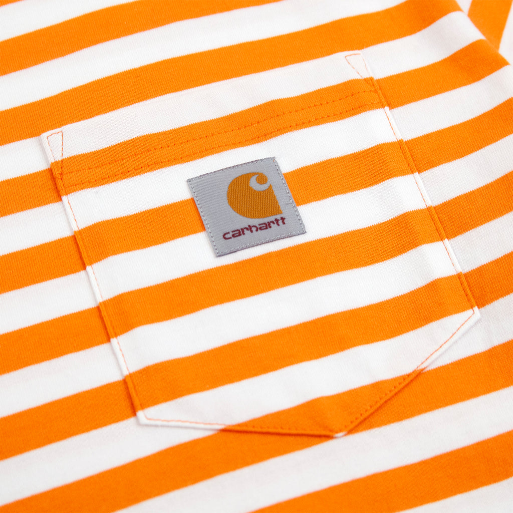 Carhartt WIP Scotty Pocket T Shirt in Clockwork / White - Pocket