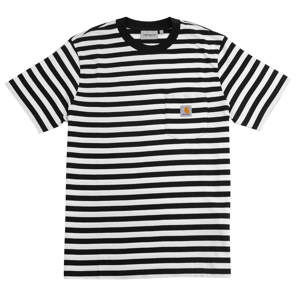 Carhartt WIP Scotty Pocket T Shirt in Black / White